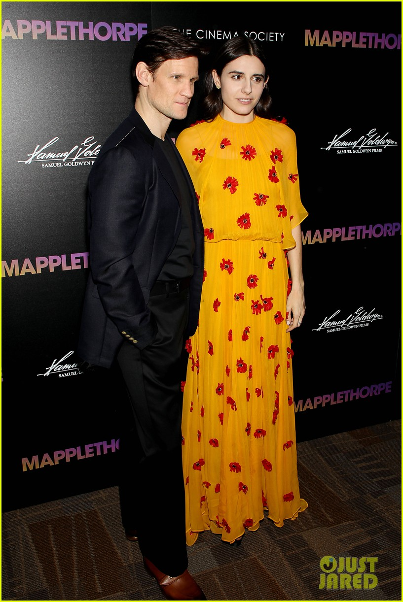 matt smith steps out for screening of mapplethorpe in nc 044239408