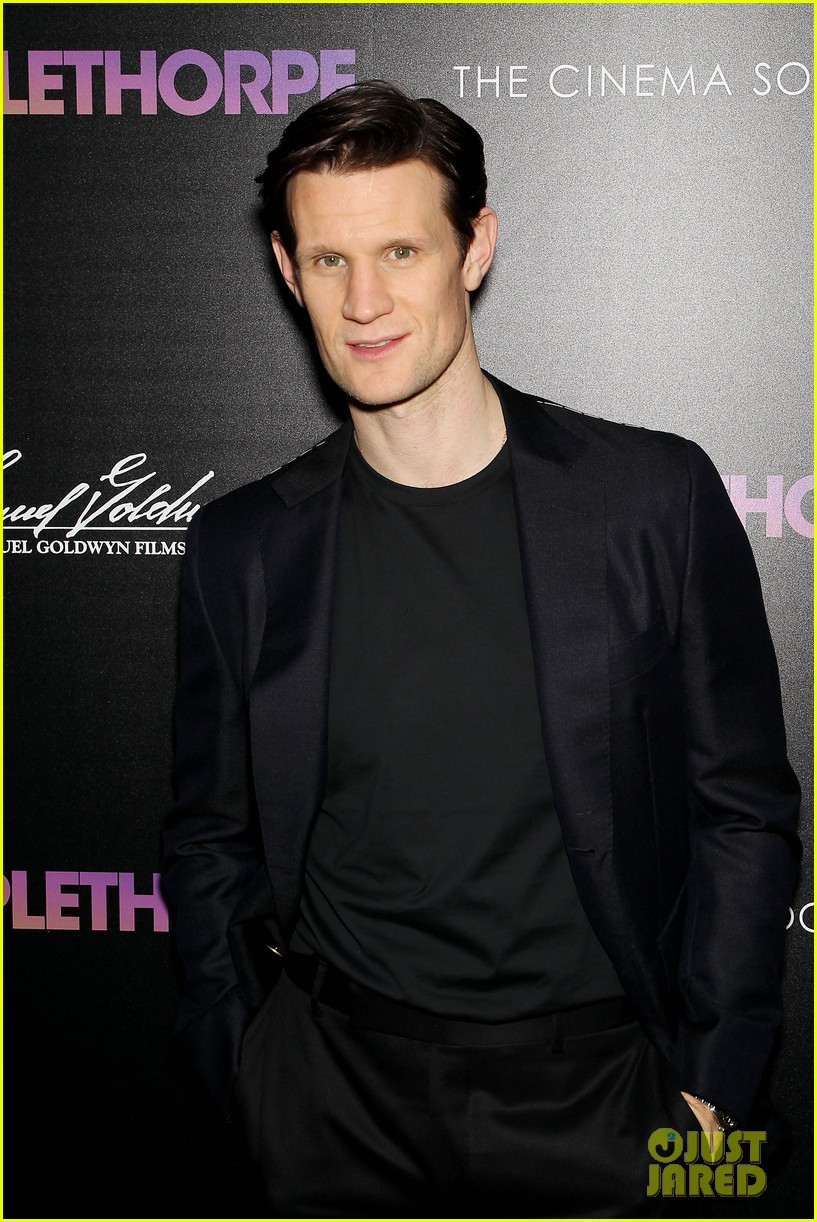 matt smith steps out for screening of mapplethorpe in nc 054239409