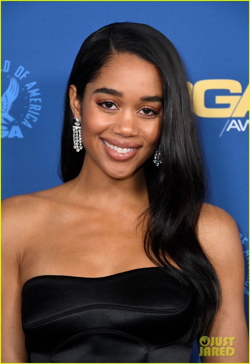 laura harrier topher grace support spike lee at dga awards 12