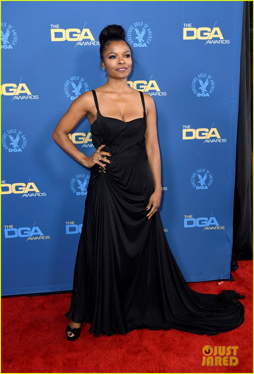 laura harrier topher grace support spike lee at dga awards 23