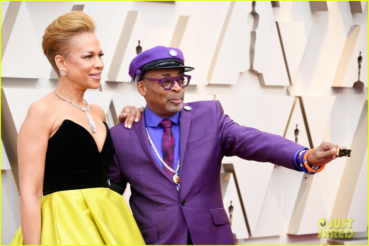 Best Director Nominee Spike Lee & Wife Tonya Lewis Lee Hit