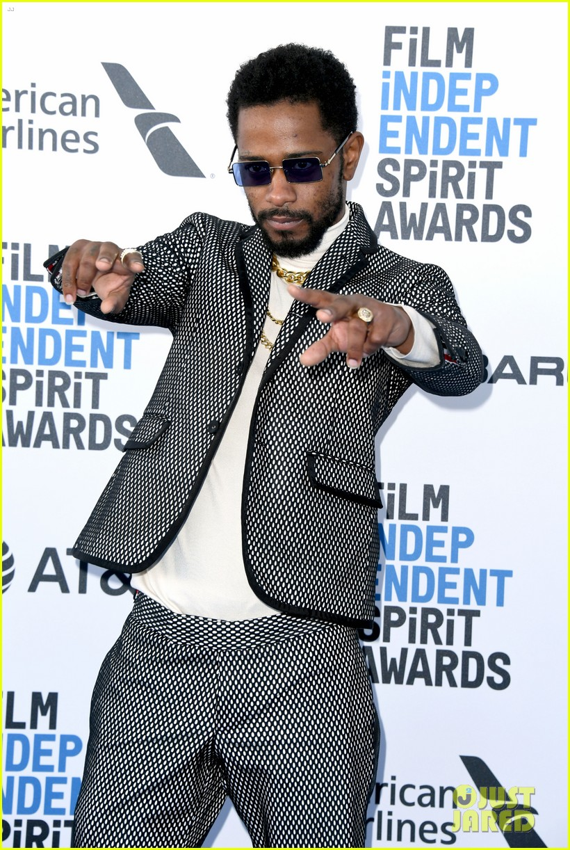lakeith stanfield boots riley spirit award 2019 124243746