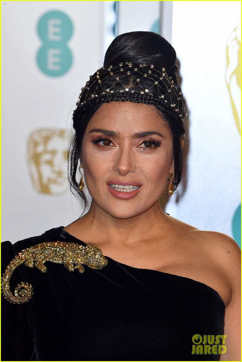 thandie newton mary j blige salma hayek baftas 2019 11