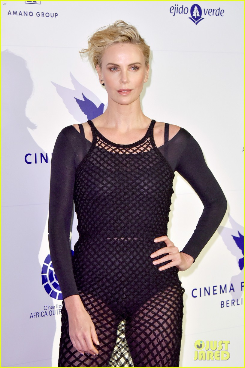 charlize theron supports cinema for peace foundation at berlin film fest 024237995