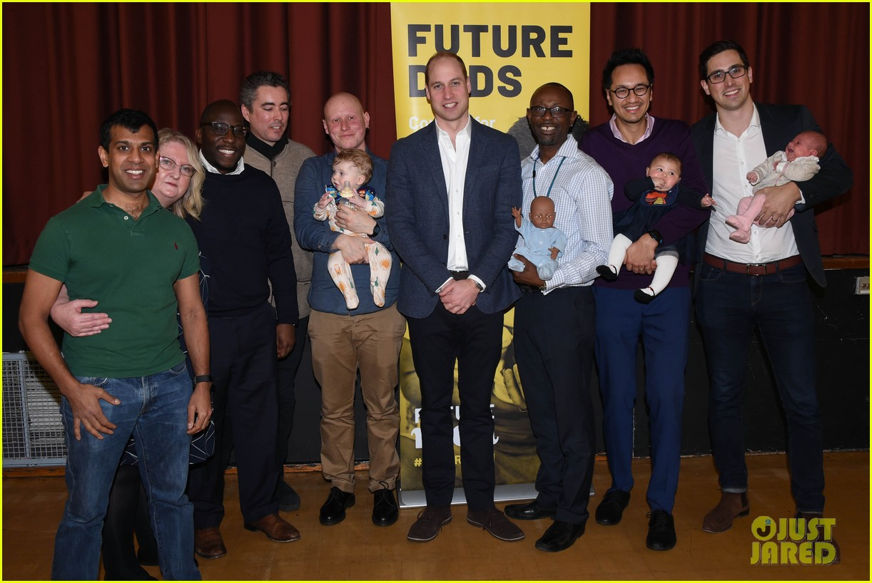 prince william gives fathers advice at future dads development program 044239111