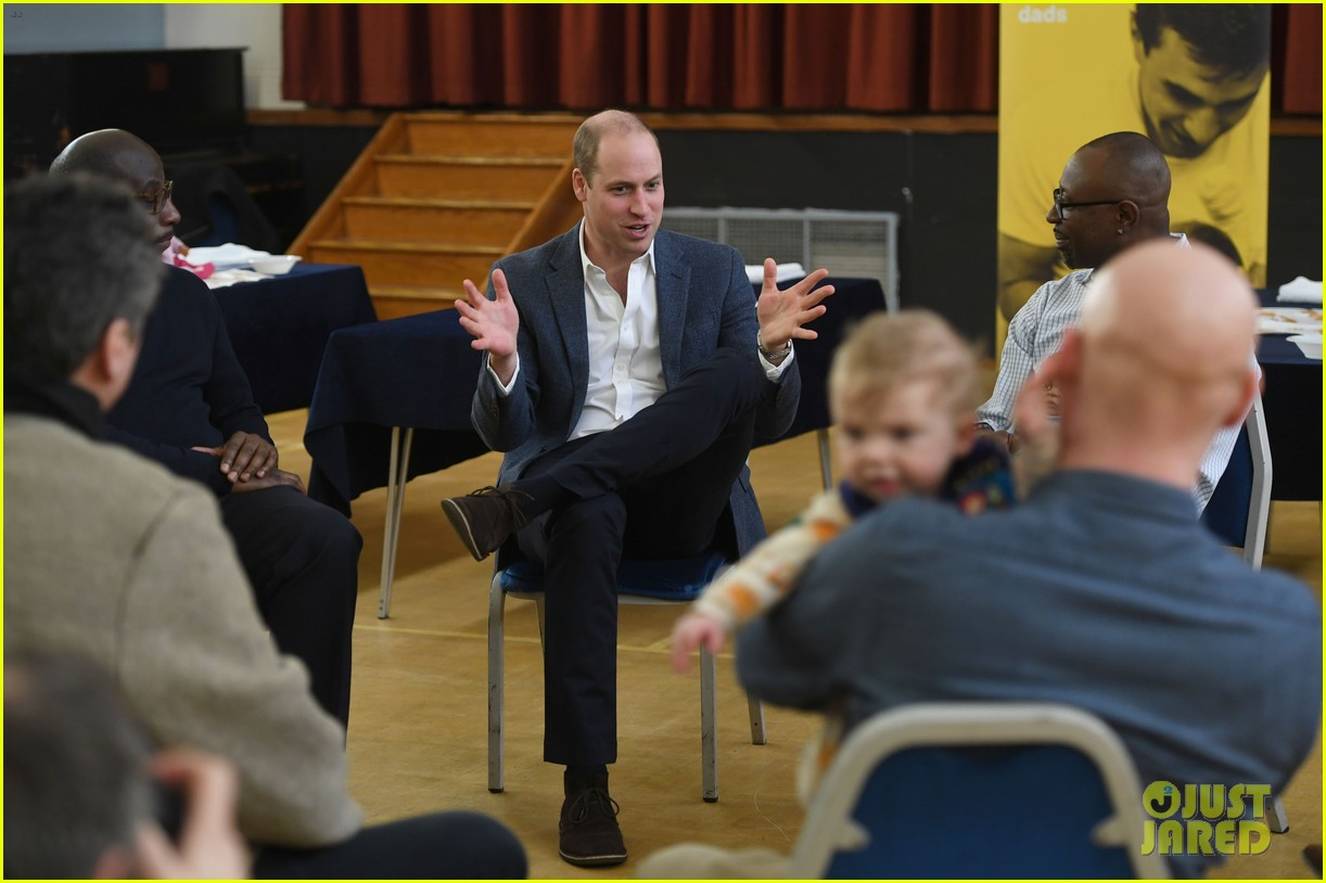 prince william gives fathers advice at future dads development program 154239122