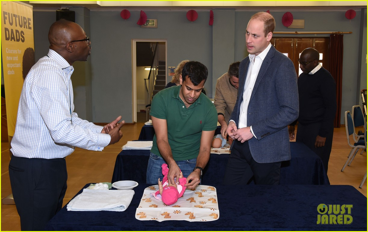 prince william gives fathers advice at future dads development program 174239124