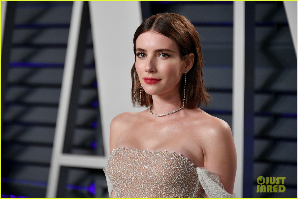 shailene woodley emma roberts and chloe moretz get glam for vanity fairs oscars 2019 party 11