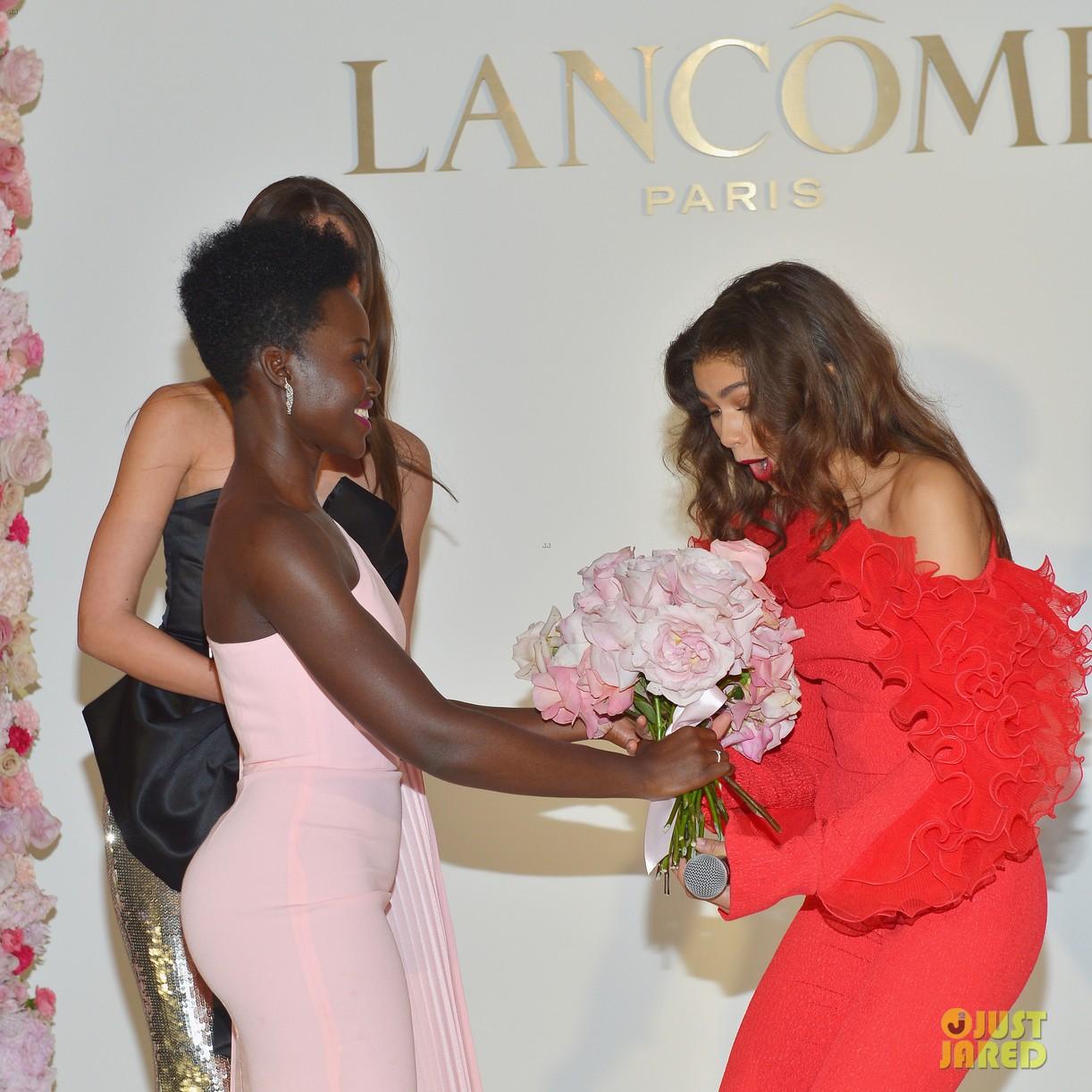 zendaya new lancome ambassadress lupita nyongo 114242619