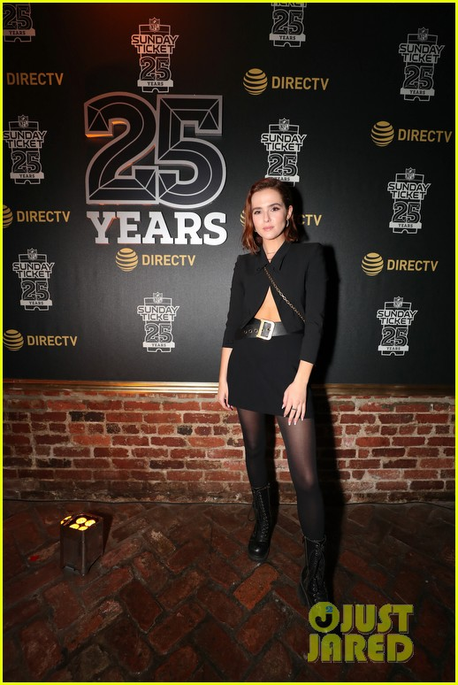 zoey deutch stops by directv lounge after zombieland 2 filming 014222462
