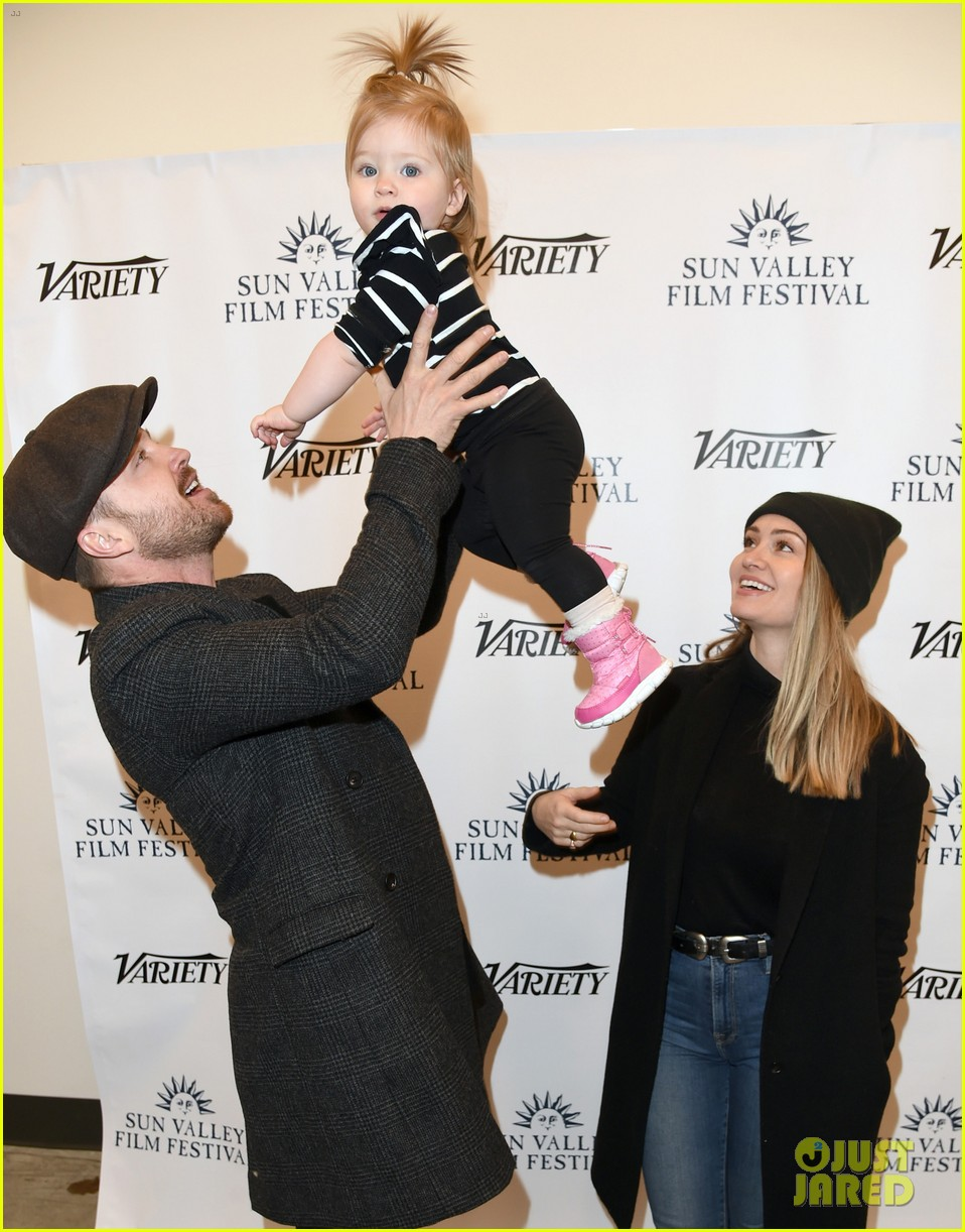 aaron paul daughter story sun valley film festival 144257667