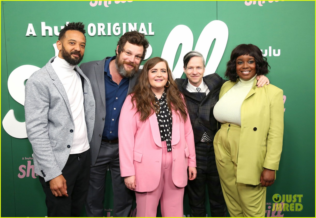 aidy bryant premieres new show shrill in nyc 024256561