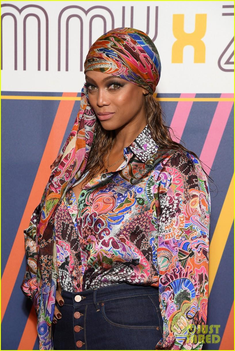 tyra banks janelle monae tommy x zendaya fashion show 07