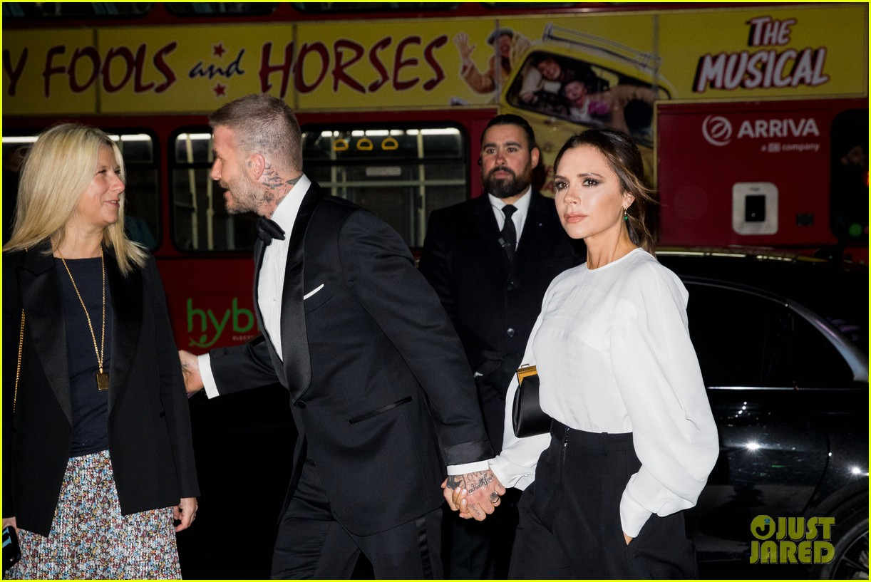 david victoria beckham step out for portrait gala in london 104255901