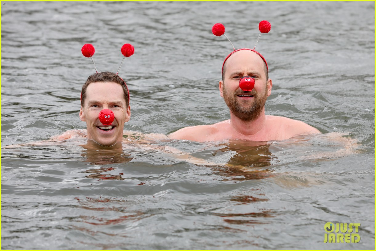 benedict cumberbatch braves cold water for charity 04