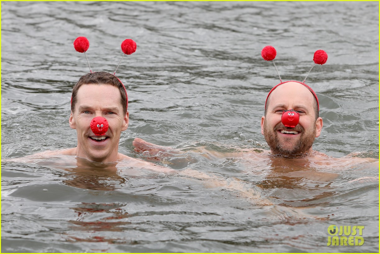 benedict cumberbatch braves cold water for charity 06