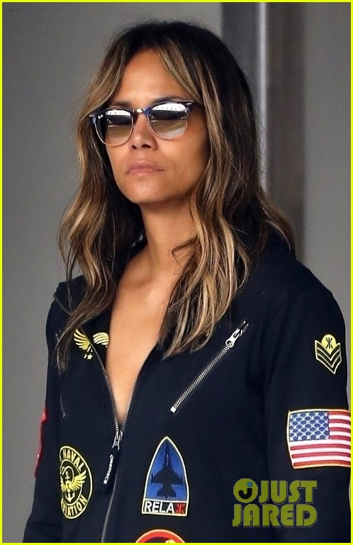 halle berry steps out in aviator onesie in beverly hills 024258142