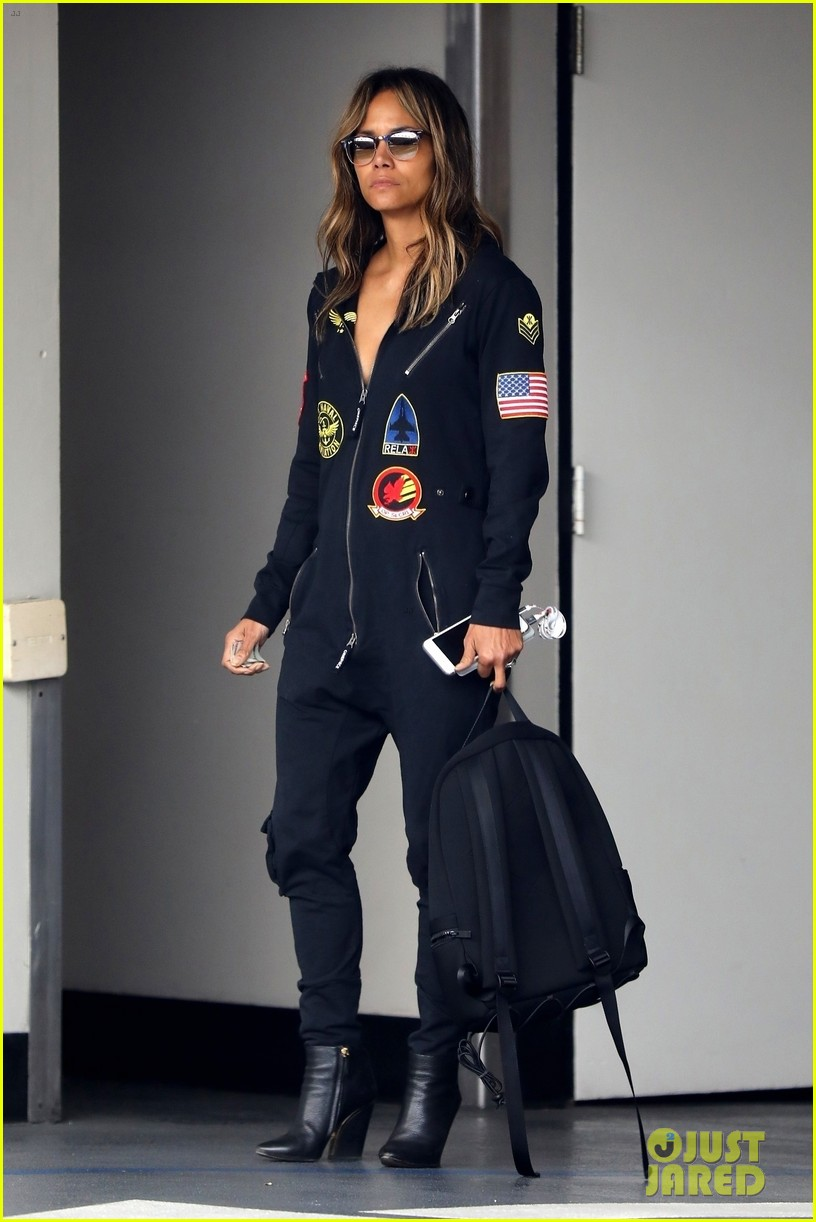 halle berry steps out in aviator onesie in beverly hills 054258145