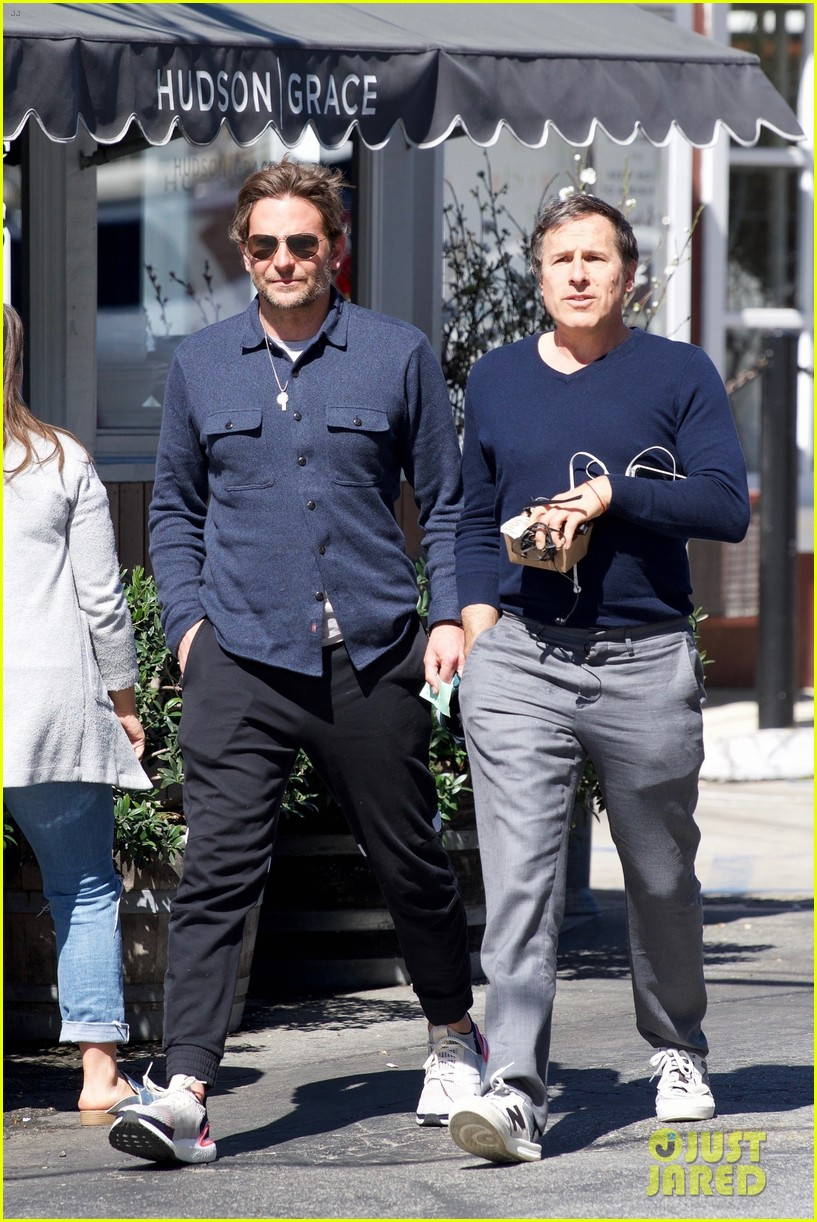 bradley cooper joins a friend for lunch 054257638