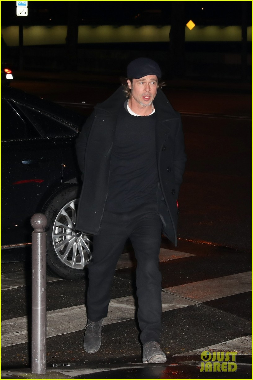 brad pitt paris march 2019 034255757