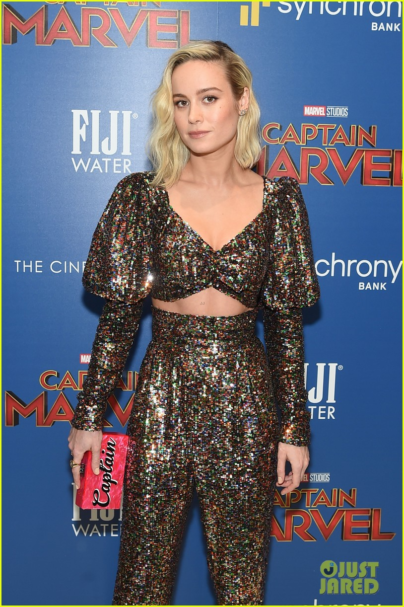 brie larson captain marvel nyc march 2019 054252871