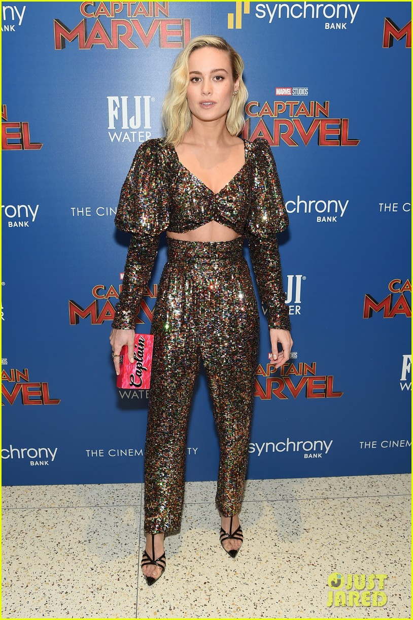 brie larson captain marvel nyc march 2019 274252898