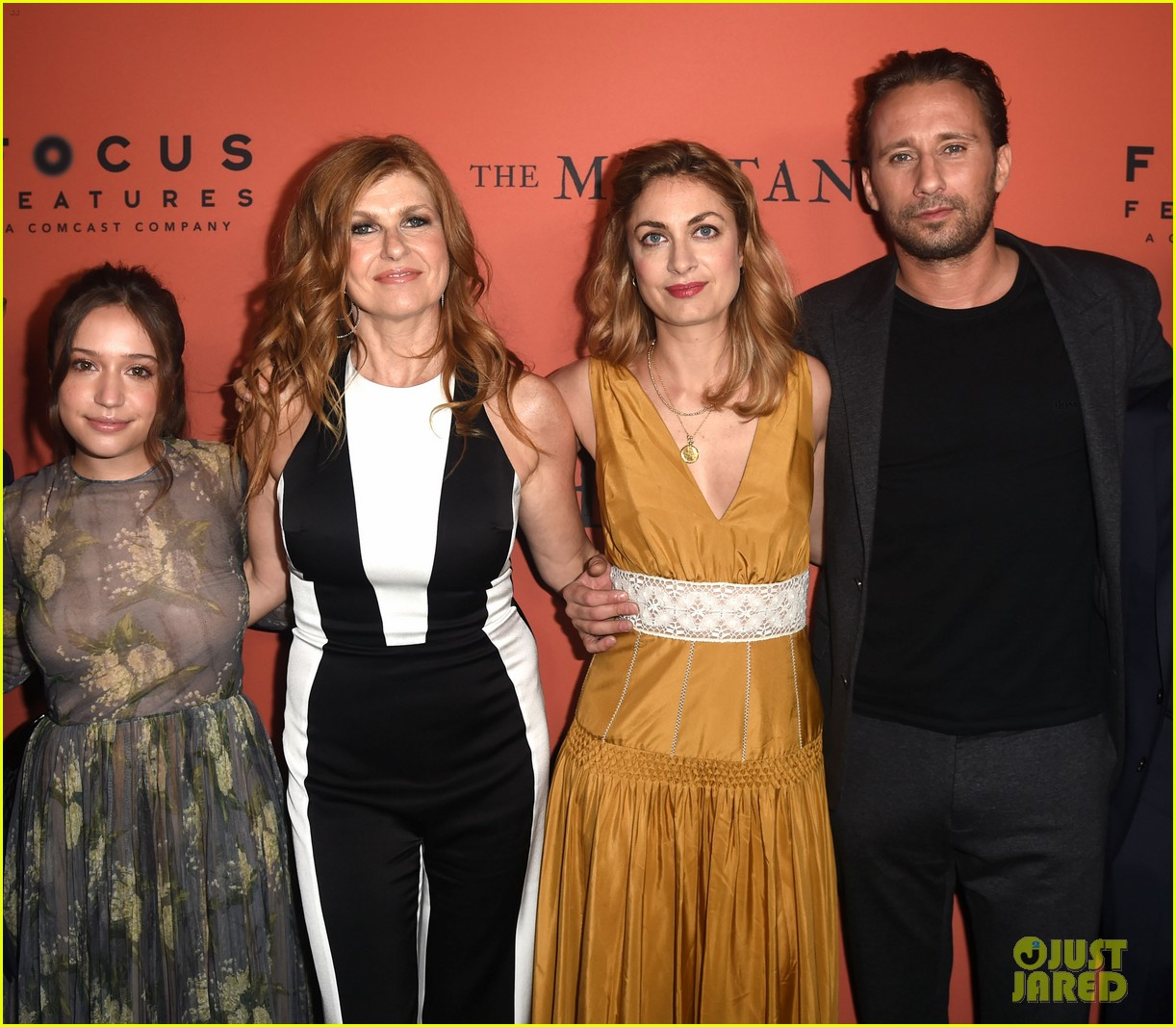 connie britton matthias schoenaerts celebrate the mustang at hollywood premiere 164256357