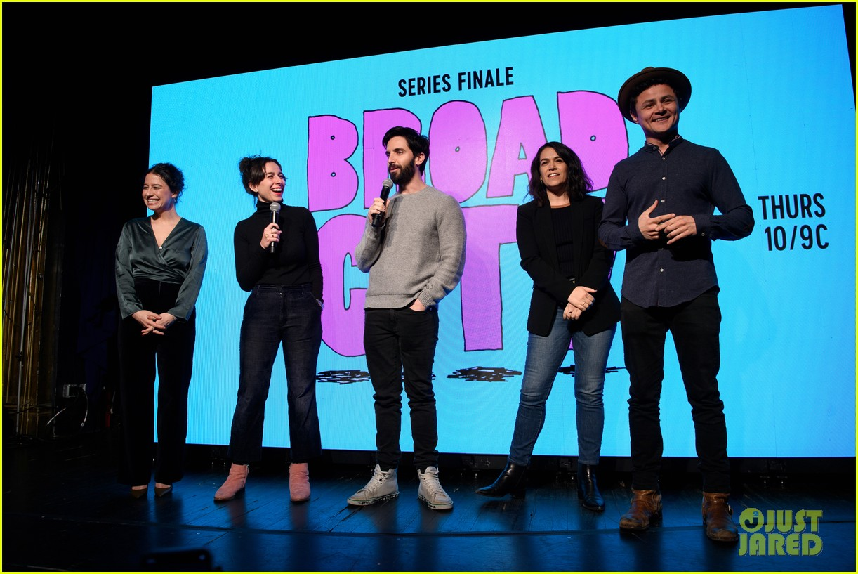 abbi jacobson ilana glazer host broad city series finale viewing party 034263793