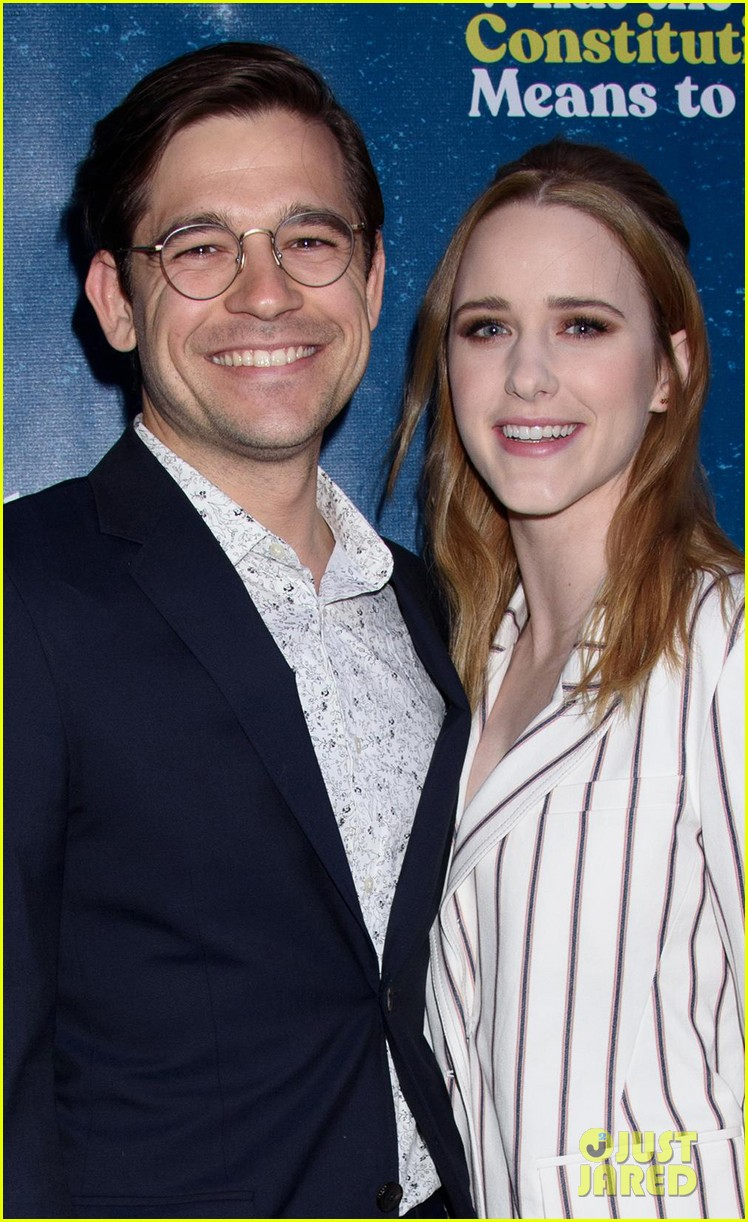 rachel brosnahan jason ralph what the constitution means to me bway opening night 03