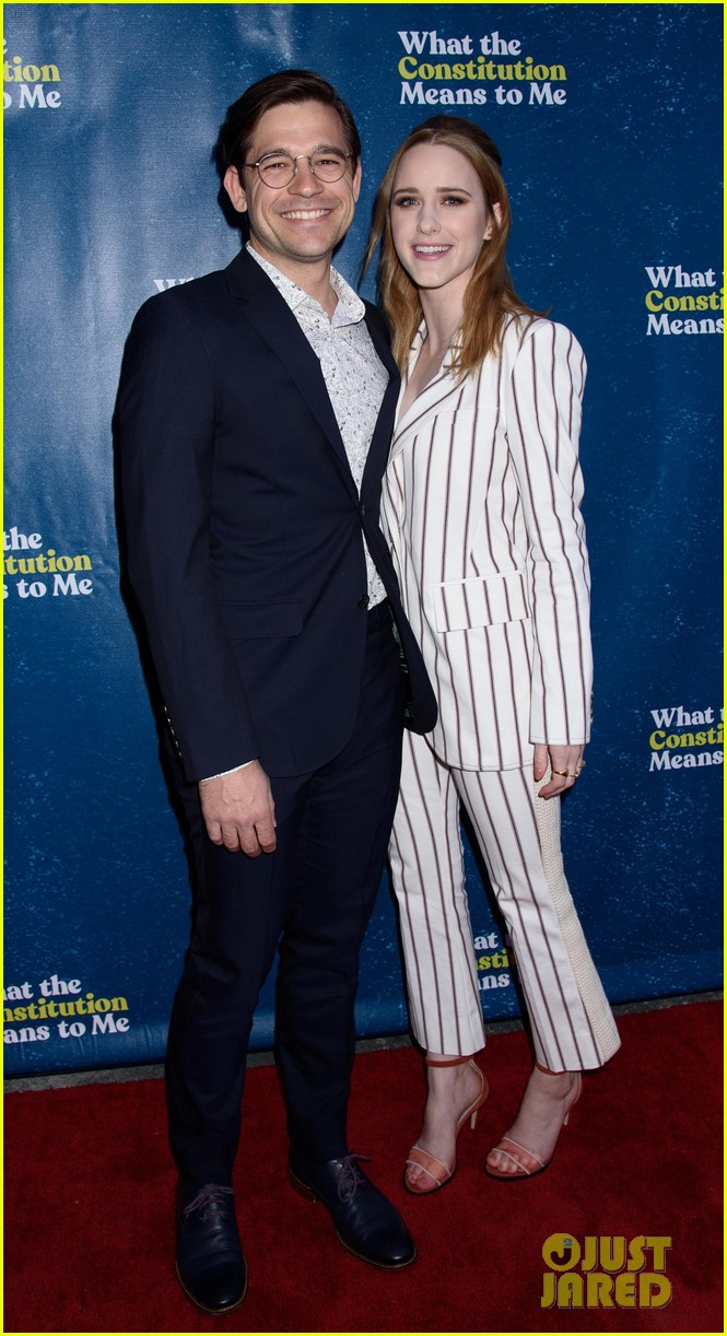 rachel brosnahan jason ralph what the constitution means to me bway opening night 05