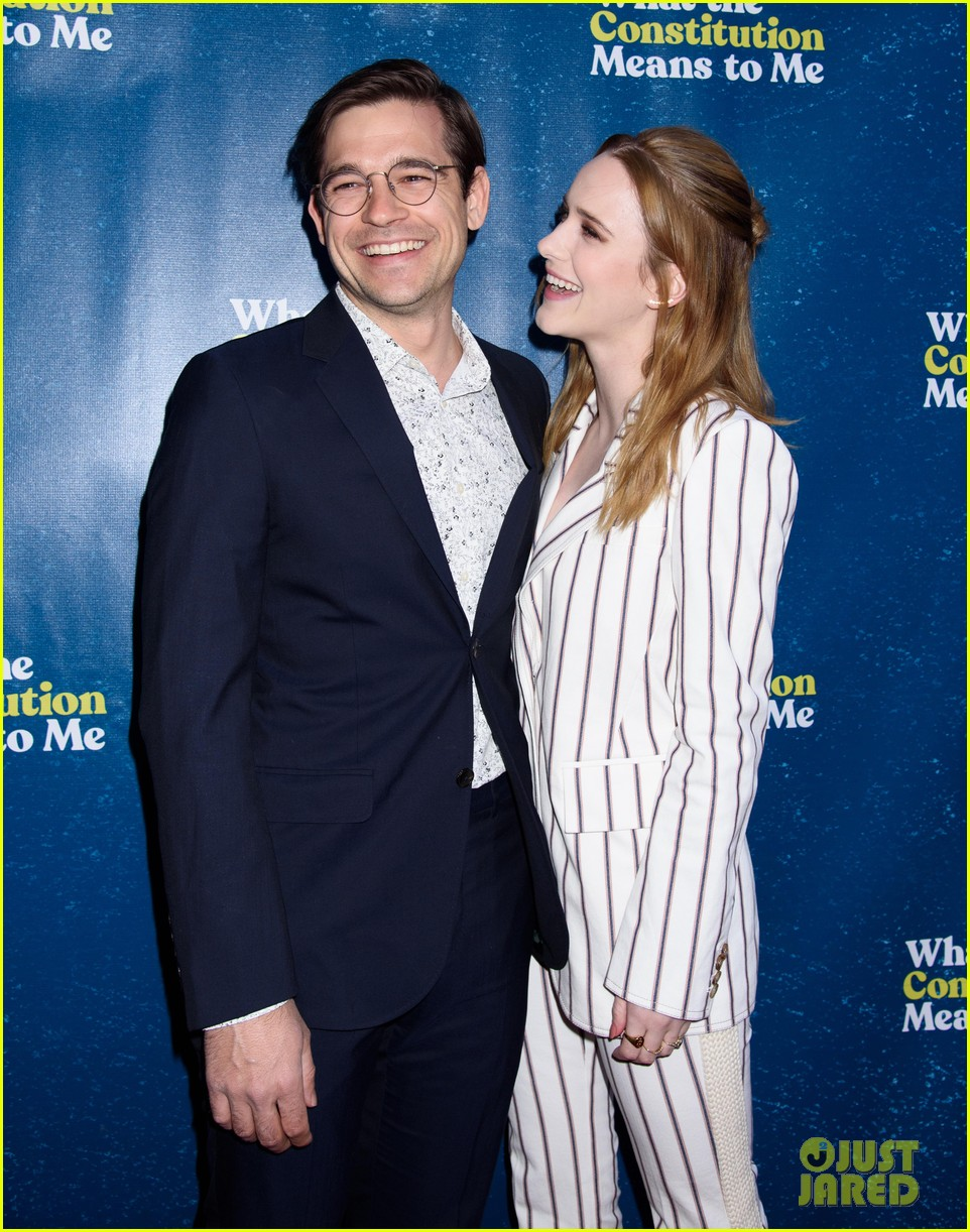 rachel brosnahan jason ralph what the constitution means to me bway opening night 10