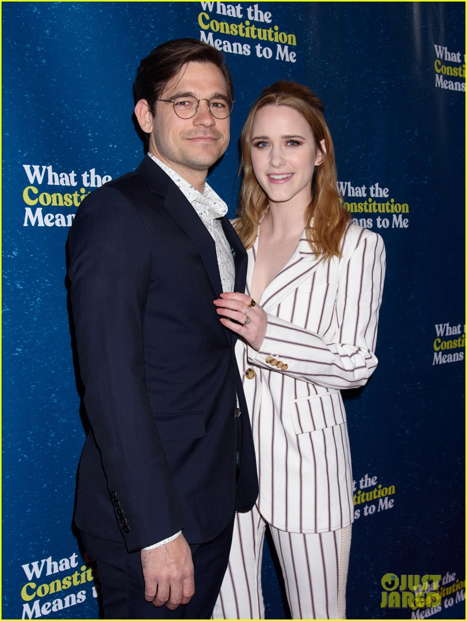rachel brosnahan jason ralph what the constitution means to me bway opening night 12