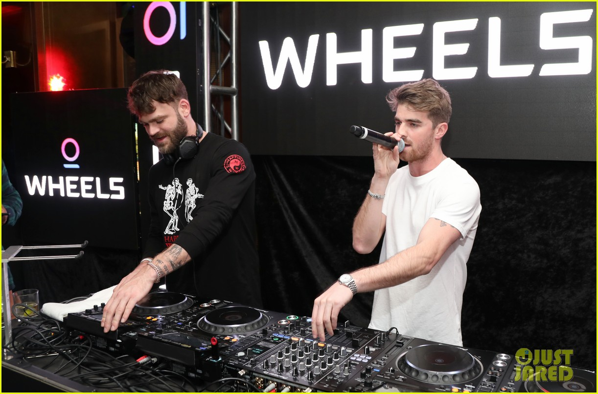 chainsmokers nicole scherzinger wheels launch party 10