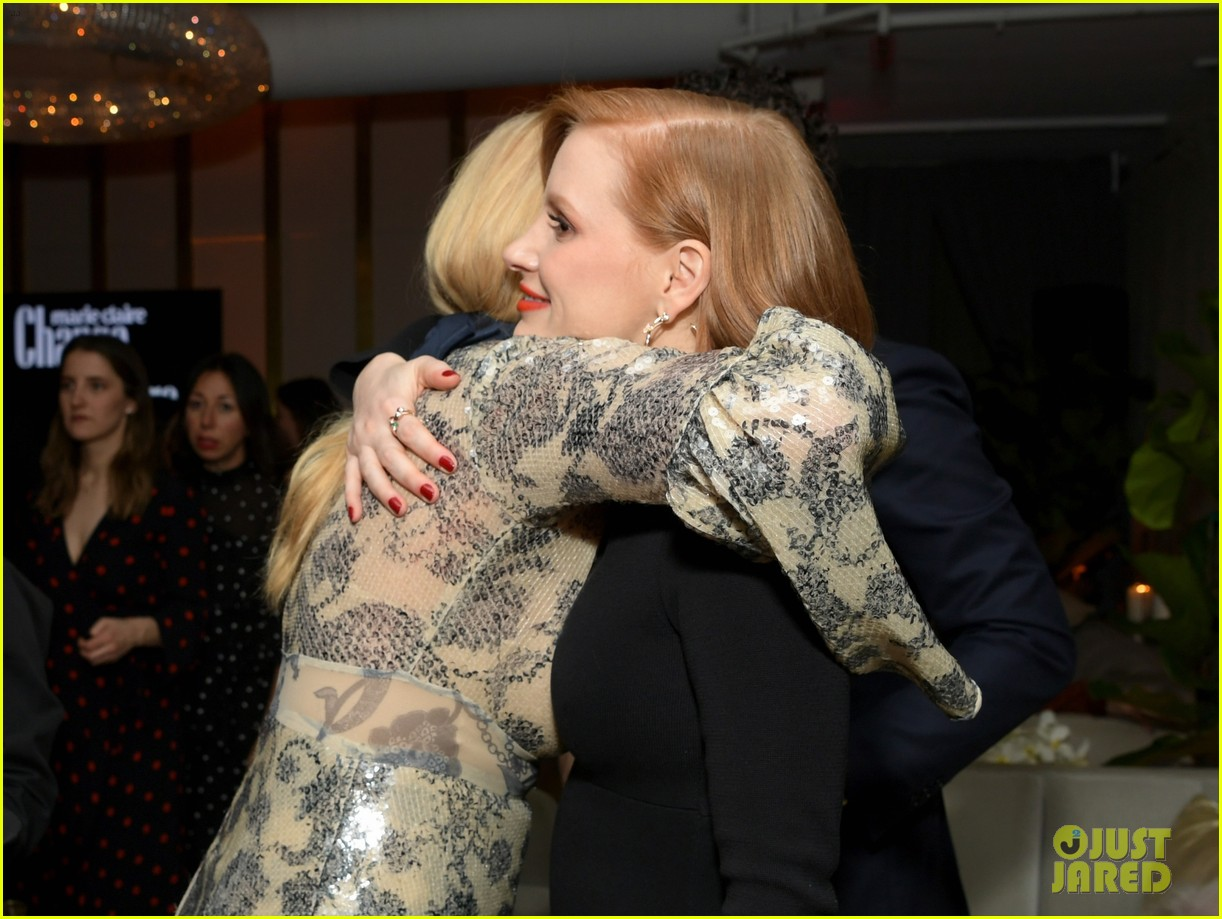 jessica chastain busy philipps marie claire changemakers 01