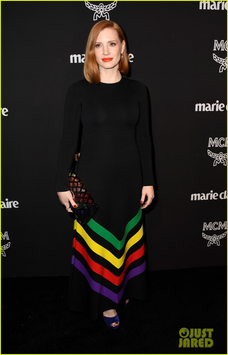 jessica chastain busy philipps marie claire changemakers 024256066