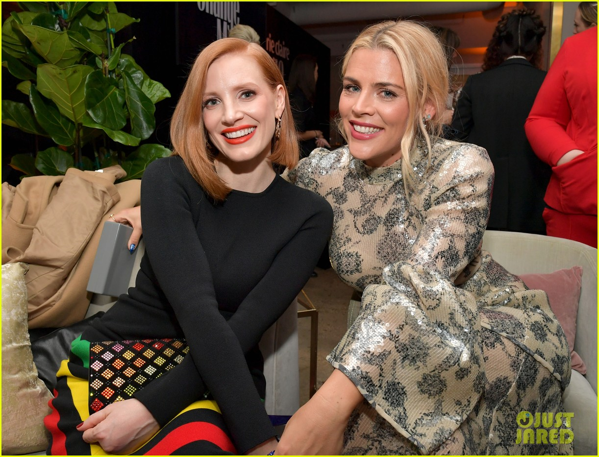 jessica chastain busy philipps marie claire changemakers 034256067