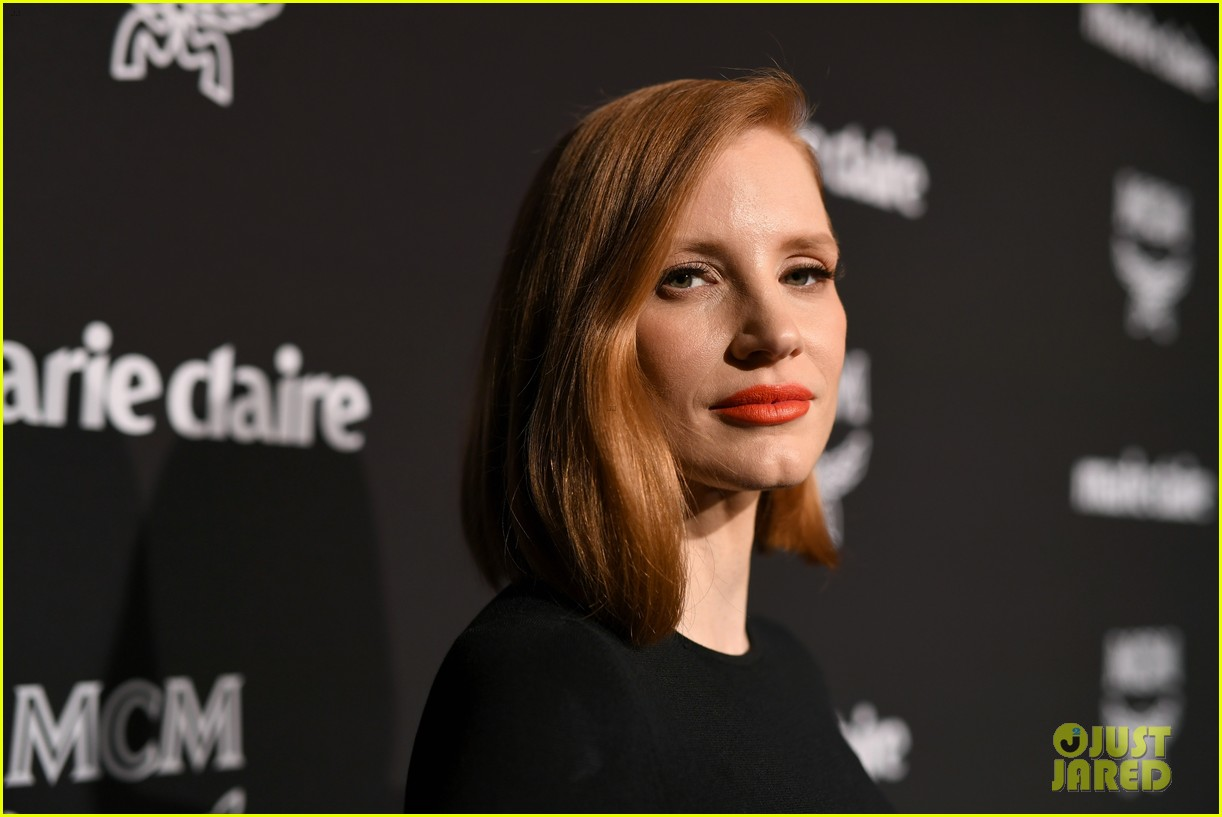 jessica chastain busy philipps marie claire changemakers 12