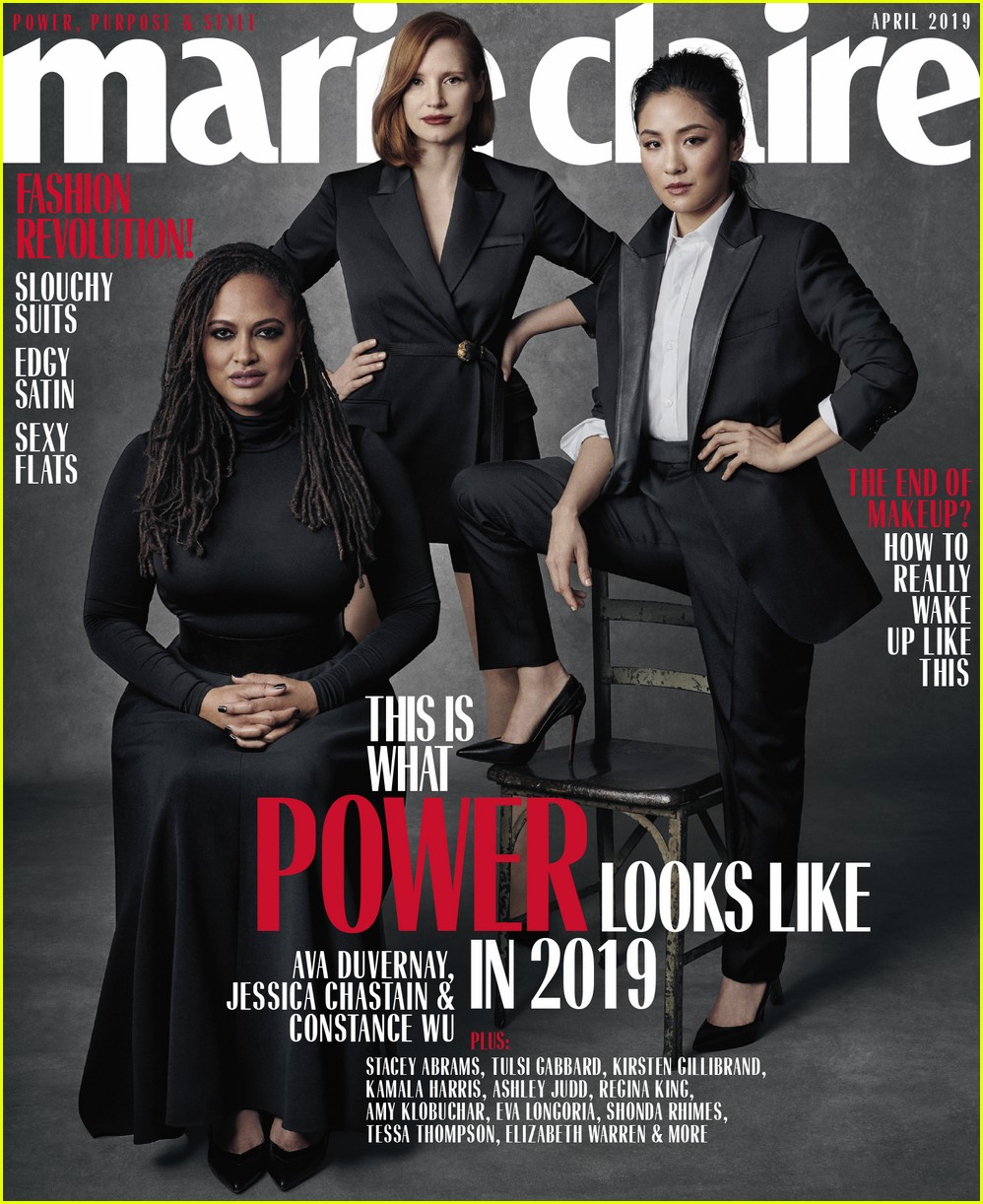 jessica chastain constance wu ava duvernay marie claire 014253066
