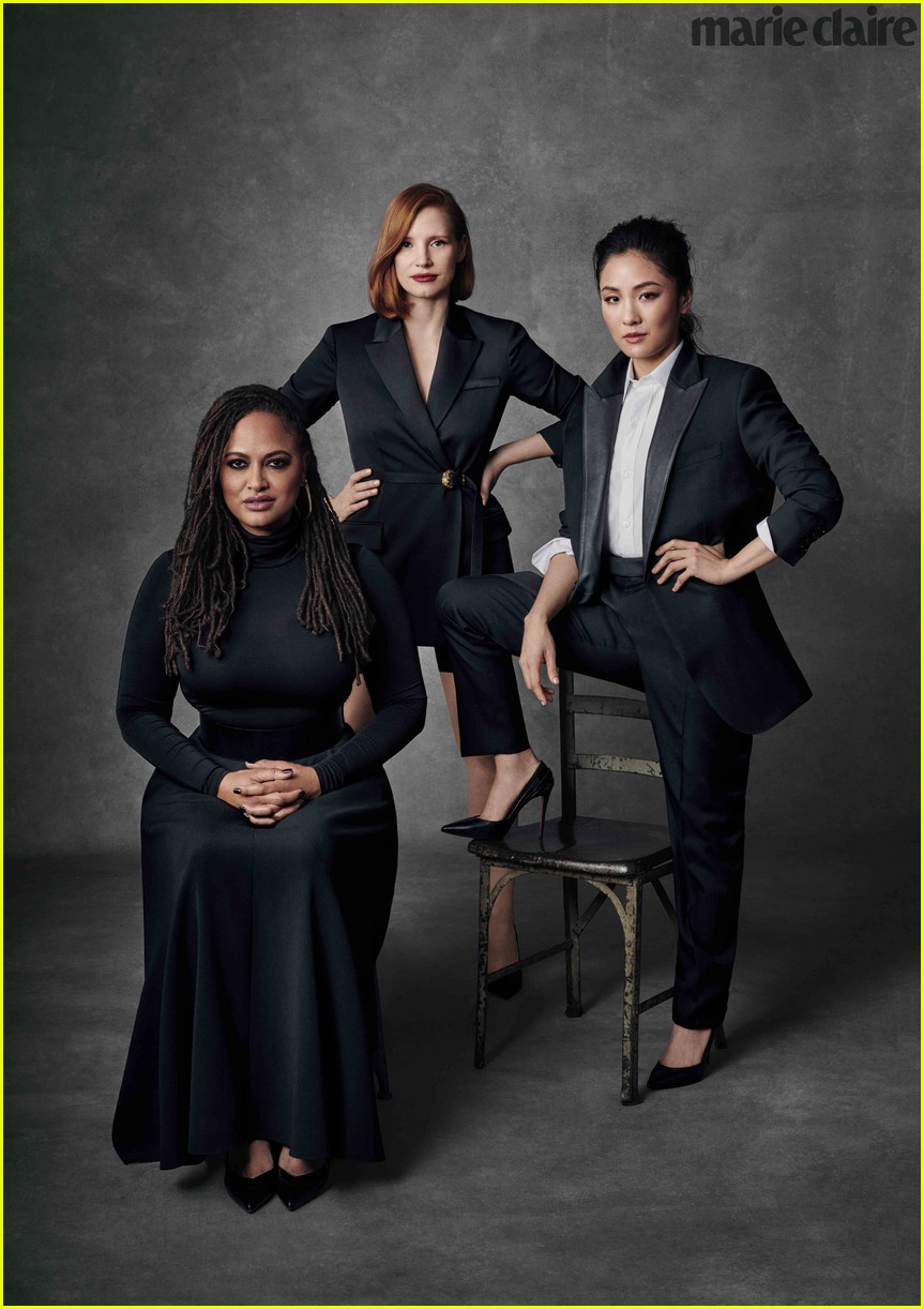 jessica chastain constance wu ava duvernay marie claire 02