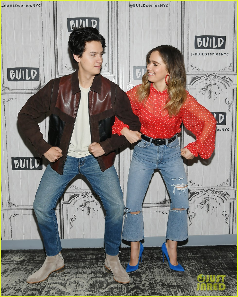Cole Sprouse & Haley Lu Richardson Have Fun During Their