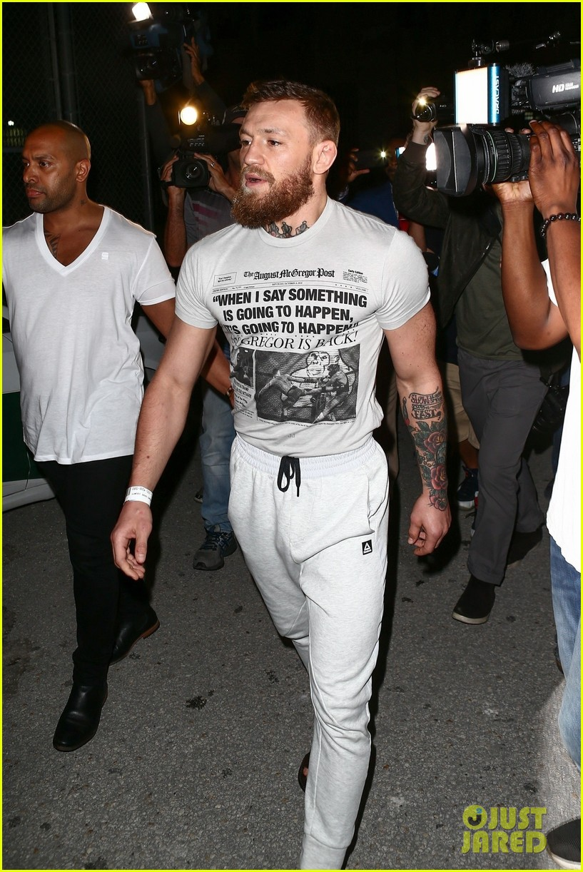 conor mcgregor released from jail 054255509