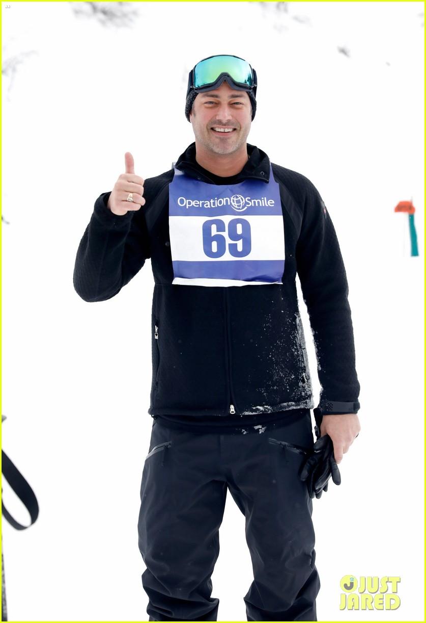 wilmer valderrama darren criss show their support at operation smile ski trip 054261641