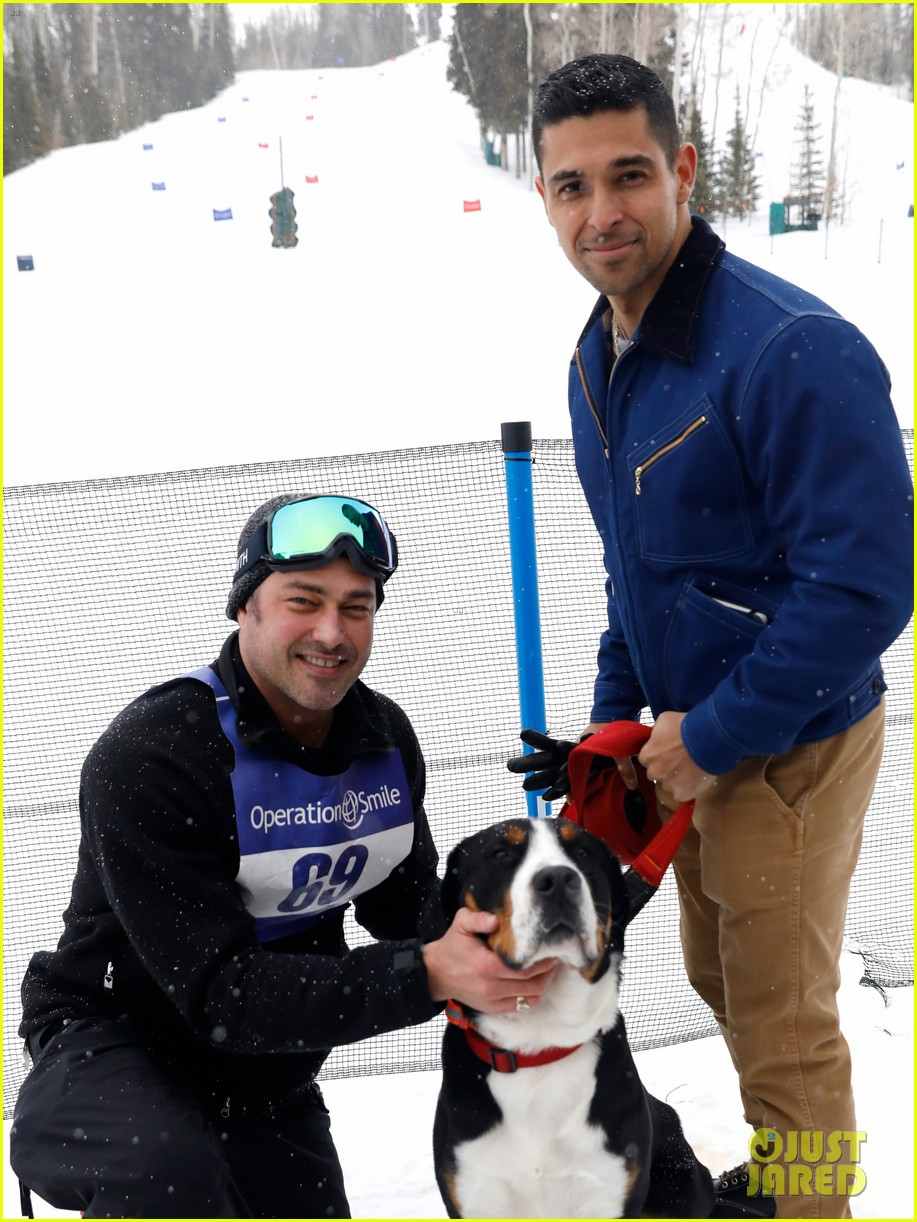 wilmer valderrama darren criss show their support at operation smile ski trip 074261643