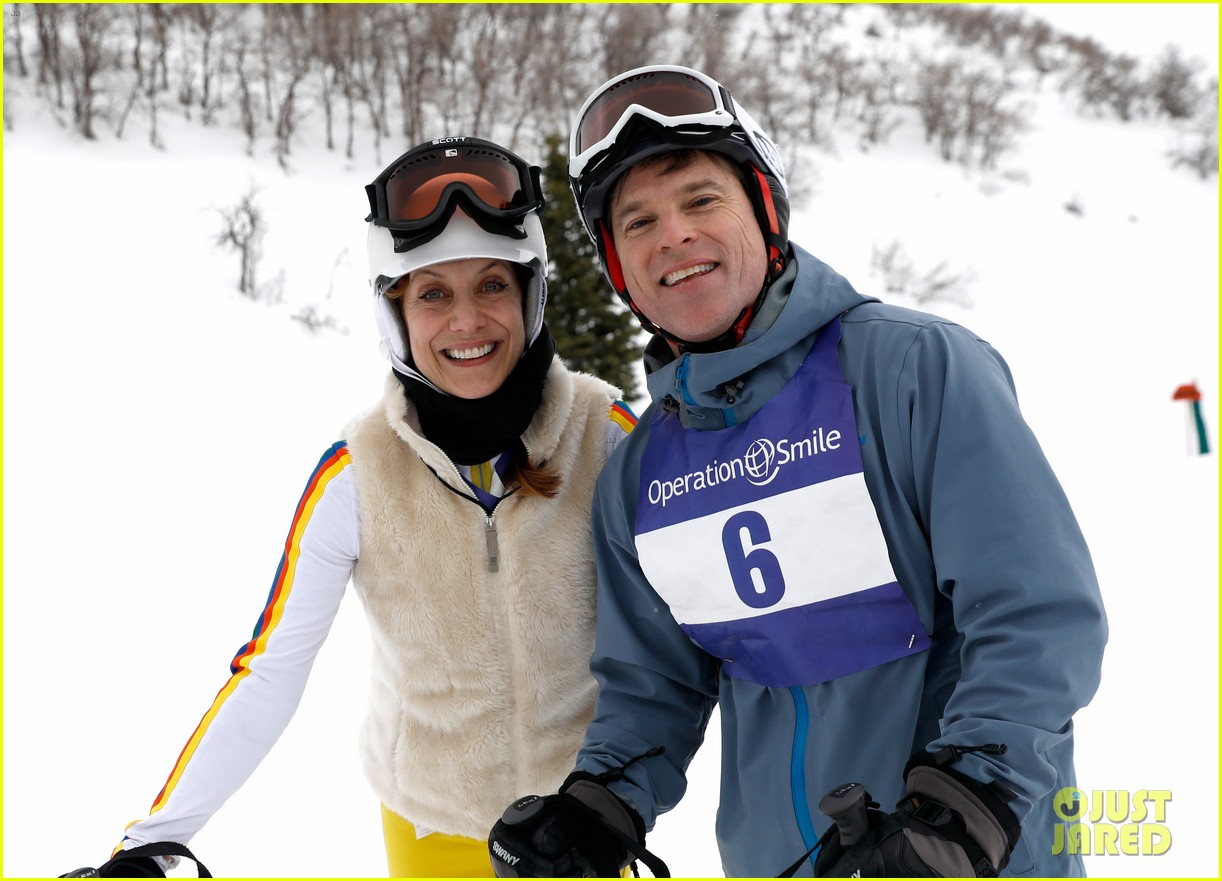 wilmer valderrama darren criss show their support at operation smile ski trip 084261644