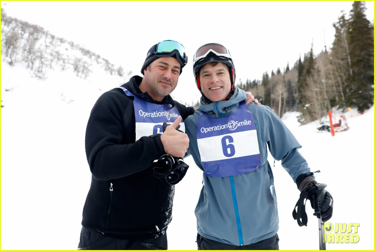wilmer valderrama darren criss show their support at operation smile ski trip 114261647
