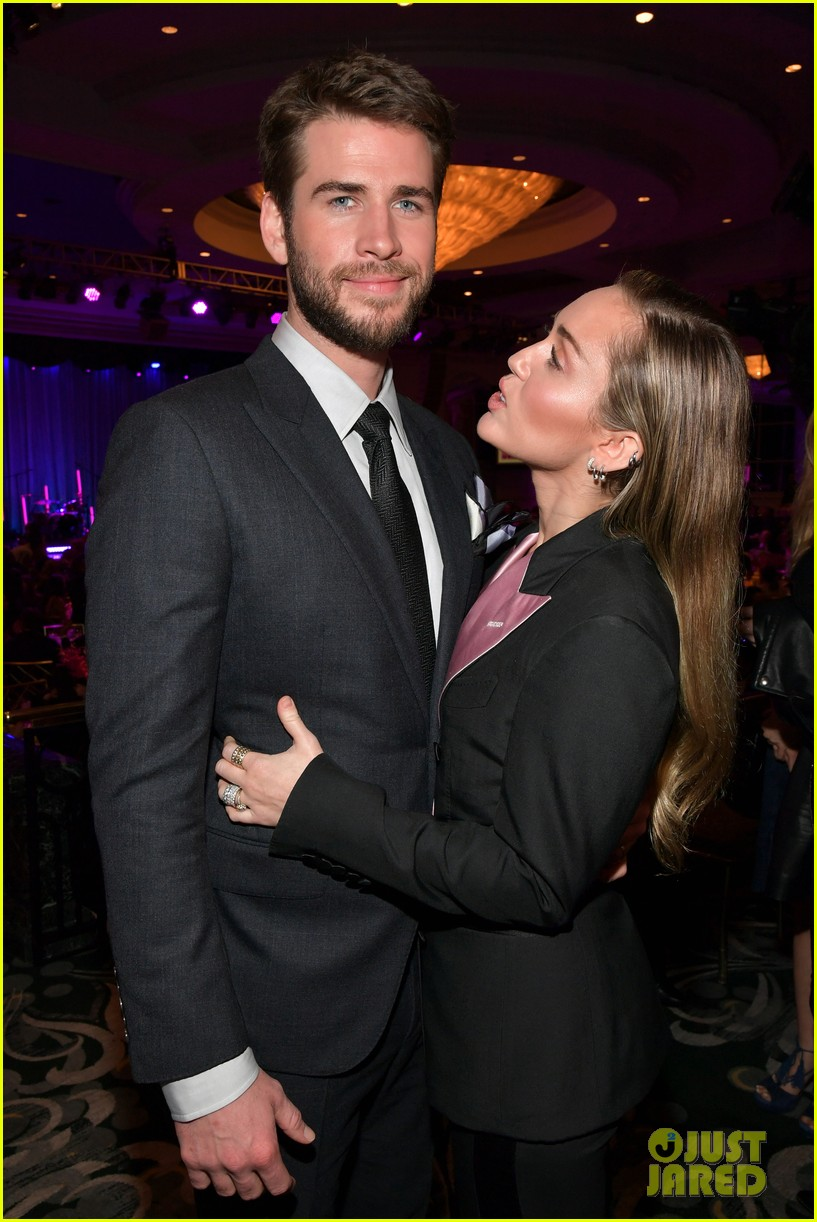 miley cyrus liam hemsworth an unforgettable evening 12