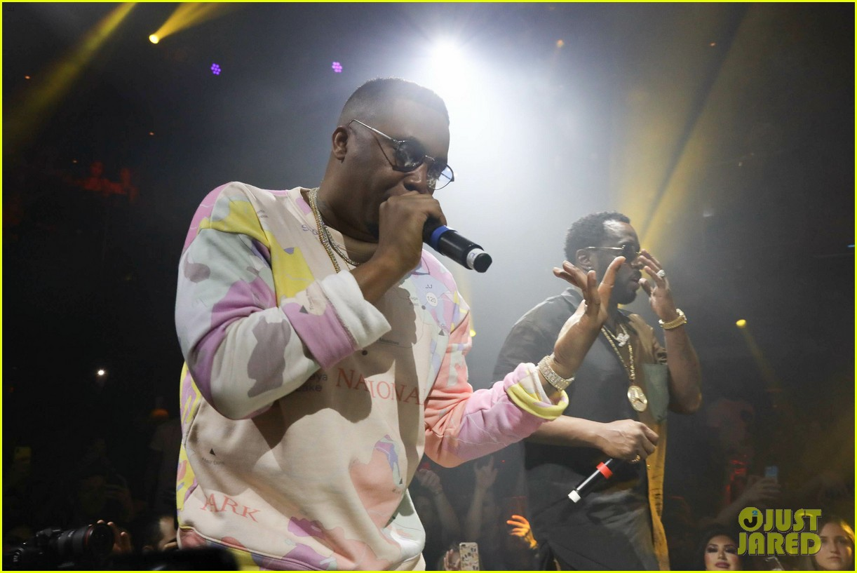 diddy nas celebrate notorious b i g on anniversary of his death 014254883