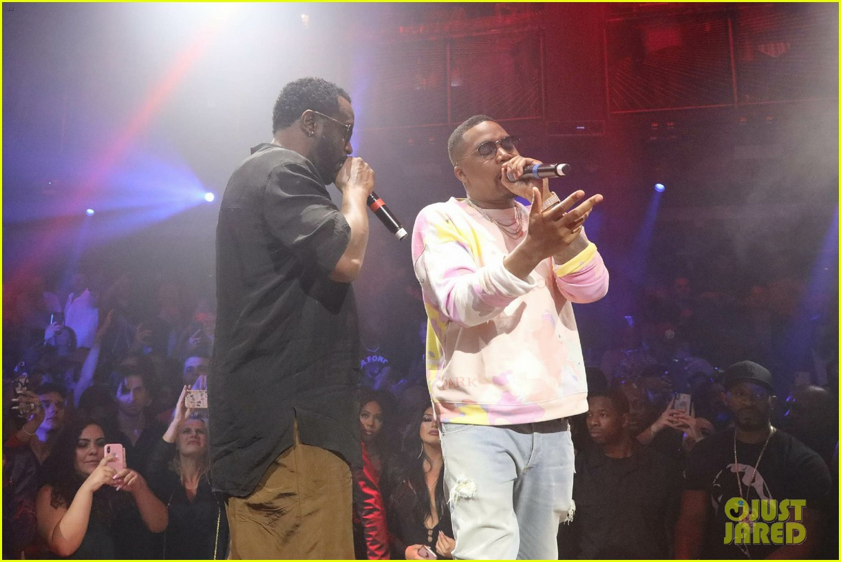 diddy nas celebrate notorious b i g on anniversary of his death 034254885