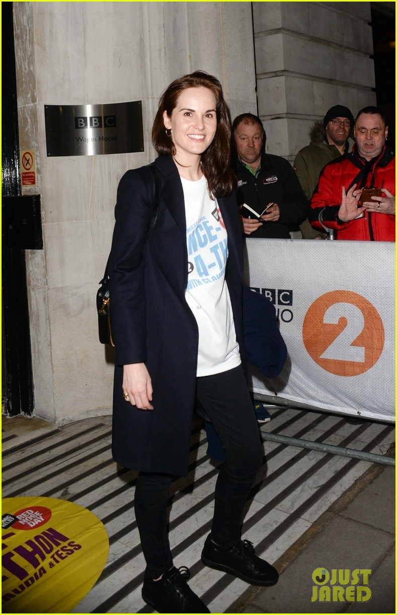 michelle dockery hosts comic relief dance a thon in london 014256634