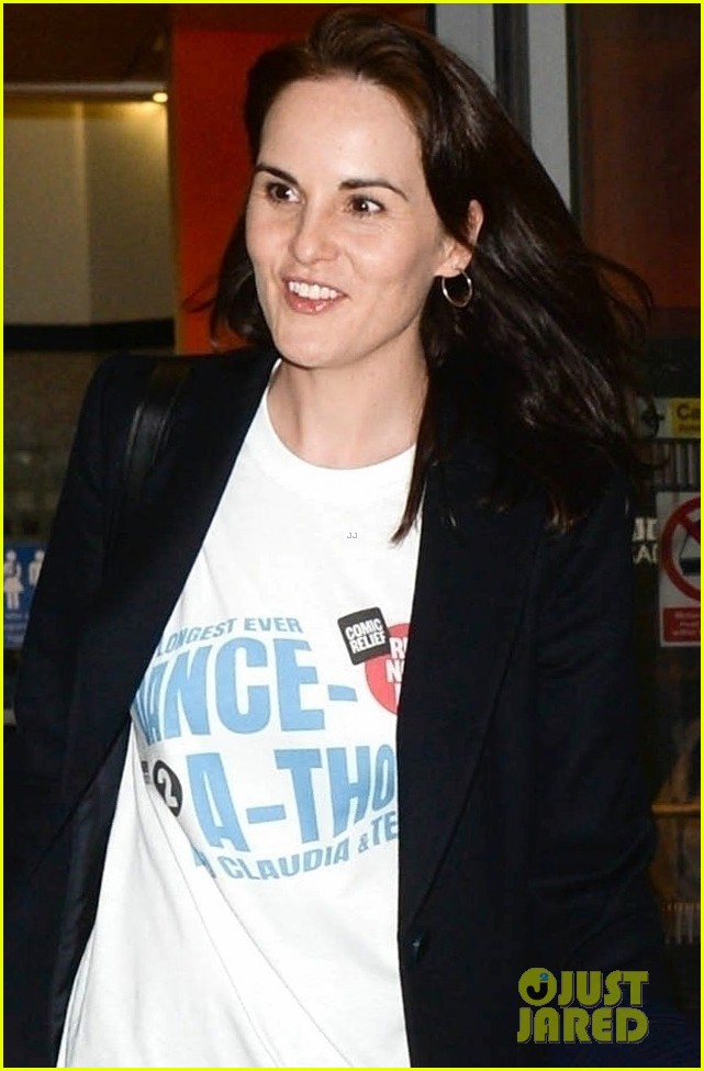 michelle dockery hosts comic relief dance a thon in london 024256635